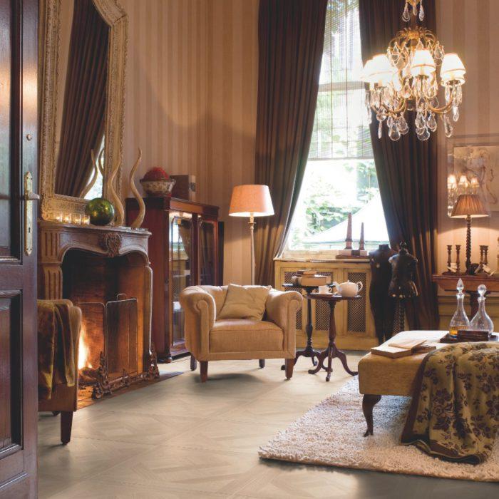 Versalles barnizado blan